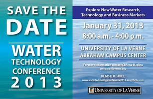 Water Technology Conference 2013