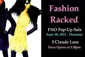FASHION RACKED: FNO Pop-Up Sale @ 5 Claude Lane