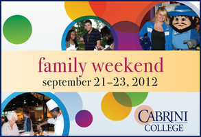 Cabrini College Family Weekend 2012: for all members...