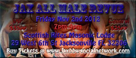 Jax All Male Revue