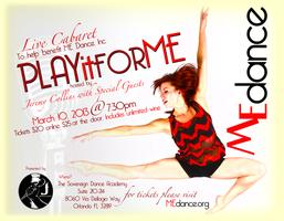 PLAY it for ME! Cabaret To Benefit ME Dance, Inc. 2013...