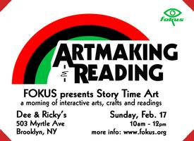 FOKUS presents Story Time Art: A Celebration of Family...