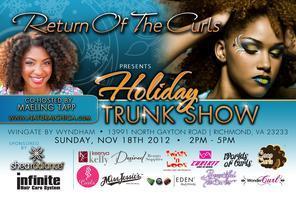 Return of the Curls Holiday Trunk Show - Richmond
