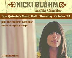 (((folkYEAH!))) Presents in Felton: NICKI BLUHM & THE...