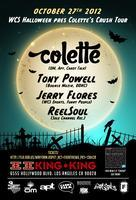10/27 WCS Events Halloween Party w / COLETTE, TONY...