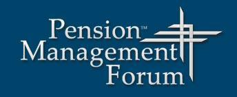 Pension Management Forum - Fall 2012