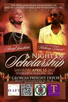Spring Scholarship Extravaganza featuring Anthony David...