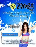 Zumba Fitness Friday Night Party
