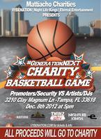 #GenerationNEXT Charity Basketball Game 12/8/12