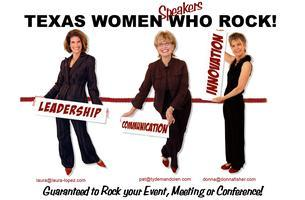 """Texas Women Who Rock:  """"Getting the Most From What..."""