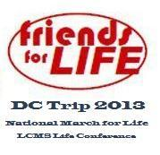 Friends for Life Student Bus Trip to Washington D.C.