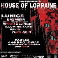 POSTPONED -- HOUSE OF LORRAINE:  LUNICE + BRENMAR +...