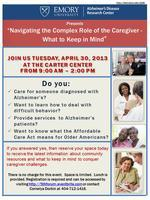 Navigating the Complex Role of the Caregiver - What to...