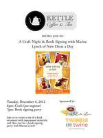 [North County] San Diego Craft Night & Book Signing...
