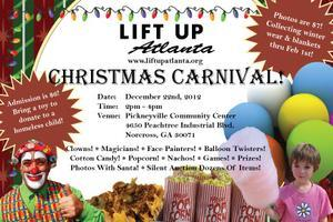 Christmas carnival / toy drive for Atlanta's homeless...