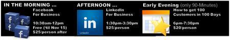 SOLD OUT -- Social Media Classes -- Thurs., Dec. 6,...