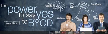 """Fortinet """"BYOD"""" Network Security..."""