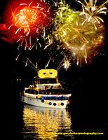 25th Annual Lighted Boat Parade and Fireworks - Five...