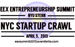 NYU Stern EEX Entrepreneurship Summit 2013