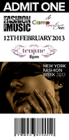 Camp Couture NYC & Fashion Meets Music: The NEW YORK...
