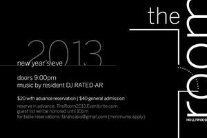 New Year's Eve 2013 @ The Room Hollywood