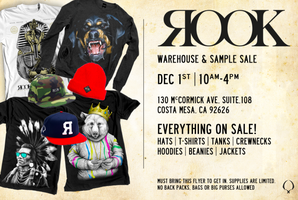 Copy of Rook Brand Warehouse Sale