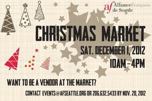 Christmas Market at the Alliance Française!