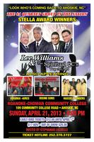 LEE WILLIAMS & THE SPIRITUAL QC'S LIVE IN AHOSKIE