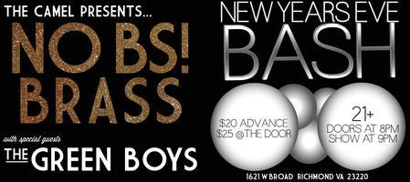 NO BS BRASS NEW YEARS EVE BASH with The Green Boys