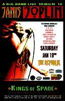 JANIS JOPLIN LIVE TRIBUTE with KINGS OF SPADE SAT JAN...