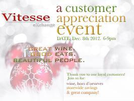 Vitesse Exchange Customer Appreciation & Holiday Soiree