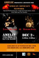 African Jazz and World Music Night at Amelie wine bar