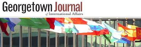The Georgetown Journal of International Affairs...