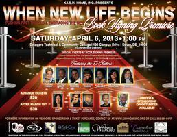 WHEN NEW LIFE BEGINS BOOK SIGNING PREMIERE
