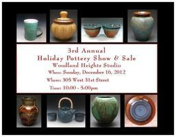 Woodland Heights Holiday Pottery Show & Sale
