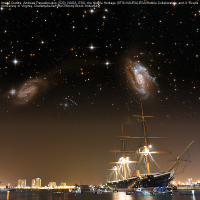 Stargazing at Portsmouth Historic Dockyard