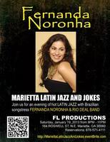 MARIETTA LATIN JAZZ AND JOKES featuring Fernanda Noronh...
