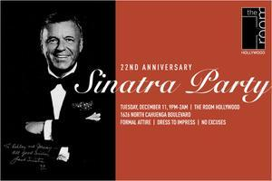 Frank Sinatra 22nd Anniversary Party