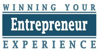 Winning Your Entrepreneur Experience