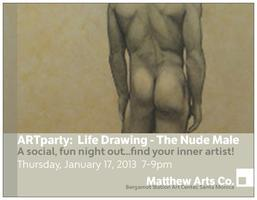 ARTparty: Life Drawing - The Nude Male