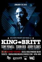 1/26 - WCS Events pres. DEEP HOUSE, w / KING BRITT!...