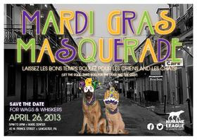 Wags and Whiskers Mardi Gras Masquerade