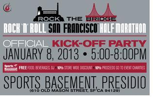 Rock 'n' Roll San Francisco Official Kick Off Party...