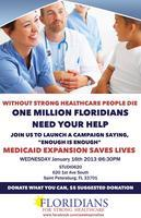 Floridians for Strong Healthcare Campaign Launch