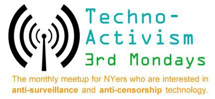 Techno-Activism 3rd Mondays | January 21 | NYC