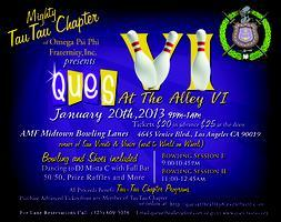 QUES AT THE ALLEY VI