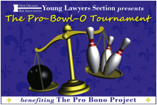 YLS Bowling Tournament 2013 for The Pro Bono Project...
