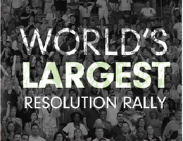 Worlds Largest Resolution Rally