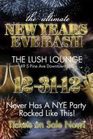 NEW YEARS EVE 2013 inside THE LUSH LOUNGE