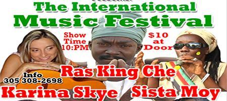 THE NORTH MIAMI INTERNATIONAL MUSIC FESTIVAL